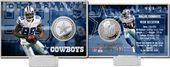 Football - Dez Bryant Silver Coin Card