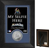 "Baseball - Miami Marlins - ""Selfie"" Minted Coin"