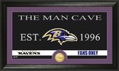 "Football - Baltimore Ravens ""Man Cave"" Bronze"