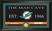 "Football - Miami Dolphins ""Man Cave"" Bronze Coin"