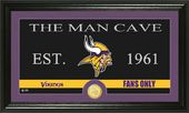 "Football - Minnesota Vikings ""Man Cave"" Bronze"