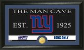 "Football - New York Giants ""Man Cave"" Bronze Coin"