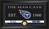 "Football - Tennessee Titans ""Man Cave"" Bronze"