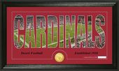 "Football - Arizona Cardinals ""Silhouette"" Bronze"