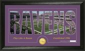 "Football - Baltimore Ravens ""Silhouette"" Bronze"