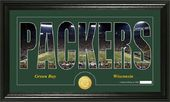 "Football - Green Bay Packers ""Silhouette"" Bronze"
