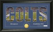 "Football - Indianapolis Colts ""Silhouette"" Bronze"
