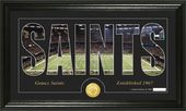 "Football - New Orleans Saints ""Silhouette"" Bronze"