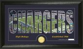 "Football - San Diego Chargers ""Silhouette"" Bronze"