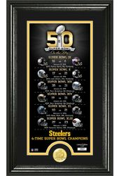 Football - Pittsburgh Steelers - Super Bowl 50th