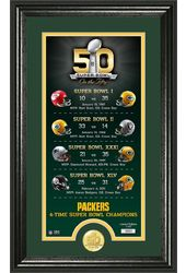Football - Green Bay Packers - Super Bowl 50th