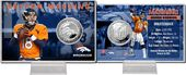 Football - Peyton Manning Silver Coin Card
