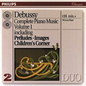 Debussy: Complete Piano Music 1