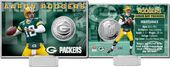 Football - Aaron Rodgers Silver Coin Card