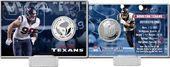 Football - J.J. Watt Silver Coin Card