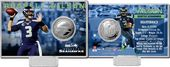 Football - Russell Wilson Silver Coin Card