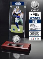 Football - Jason Witten Ticket & Minted Coin