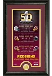 Football - Washington Redskins - Super Bowl 50th