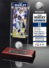 Football - Cole Beasley Ticket & Minted Coin