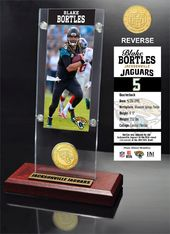 Football - Blake Bortles Ticket & Bronze Coin