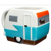 Adventurer - Toyhauler Camper Sculpted Mug