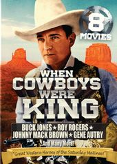 When Cowboys Were King: 8 Movie Collection (2-DVD)