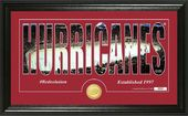 "Hockey - Carolina Hurricanes ""Silhouette"" Bronze"