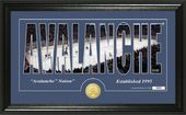 "Hockey - Colorado Avalanche ""Silhouette"" Bronze"