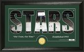 "Hockey - Dallas Stars ""Silhouette"" Bronze Coin"