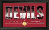 "Hockey - New Jersey Devils ""Silhouette"" Bronze"