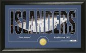"Hockey - New York Islanders ""Silhouette"" Bronze"