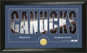 "Hockey - Vancouver Canucks ""Silhouette"" Bronze"