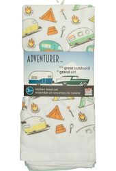 Adventurer - RV & Camper Set of 3 Kitchen Towels