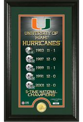"Football - University of Miami ""Legacy"" Bronze"