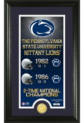 "Football - Penn State ""Legacy"" Bronze Coin Pano"