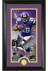 "Football - Adrian Peterson ""Supreme"" Bronze Coin"