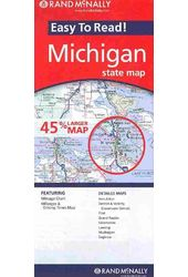 Rand McNally Easy to Read! Michican