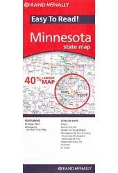 Rand McNally Easy to Read! Minnesota