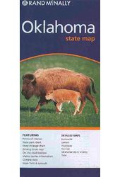 Rand Mcnally Oklahoma: State Map