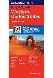 Rand McNally Western United States Regional Map