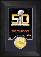 Football - Denver Broncos Super Bowl 50 Bronze