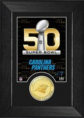Football - Carolina Panthers Super Bowl 50 Bronze