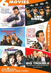 Hilarious Crime Capers (4-DVD)