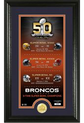 Football - Denver Broncos Super Bowl 50th