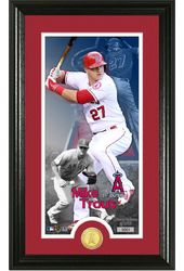 Baseball - Mike Trout Supreme Bronze Coin Photo