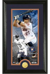 Baseball - Jose Altuve Supreme Bronze Coin Photo