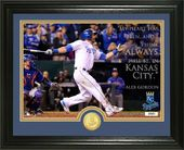 "Baseball - Alex Gordon ""Quote"" Silver Coin Photo"