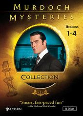 Murdoch Mysteries - Seasons 1-4 (16-DVD)