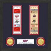 Baseball - Minnesota Twins World Series Ticket