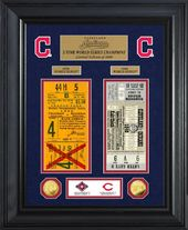 Baseball - Cleveland Indians World Series Deluxe